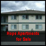 Hope apartments for sale, Hope Condos for sale