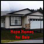 houses for sale in Hope bc